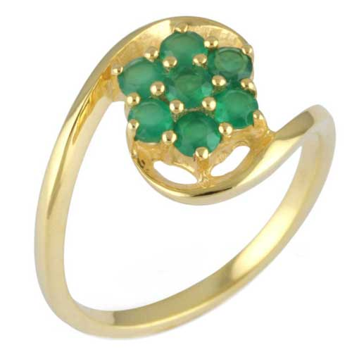 Wholesale Extended Line of Wholesale Rings (Product ID = 1090_R6_Green Onyx_ 2.90)
