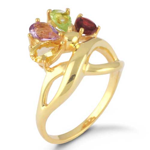 Wholesale Extended Line of Wholesale Rings (Product ID = 1113_R6_Multi Color Gemstones_ 3.91)