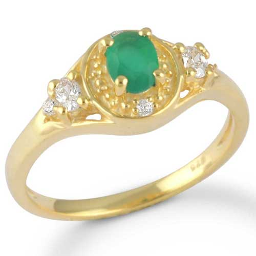 Wholesale Extended Line of Wholesale Rings (Product ID = 1233_R8_Green Onyx_ 2.55)