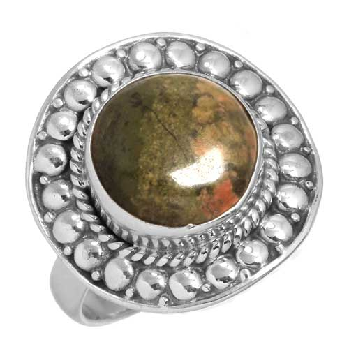 Wholesale Extended Line of Wholesale Rings (Product ID = 15014_R9.5_Unakite_6.20)