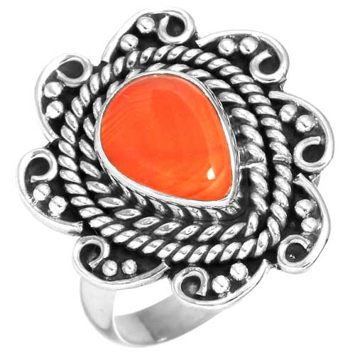 Wholesale Extended Line of Wholesale Rings (Product ID = 16255_R6_Carnelian_4.20)