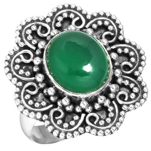 Wholesale Extended Line of Wholesale Rings (Product ID = 16291_R9_Green_Onyx_7.70)