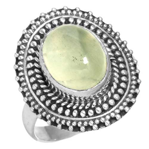 Wholesale Extended Line of Wholesale Rings (Product ID = 16322_R7.5_Prehnite_5.30)