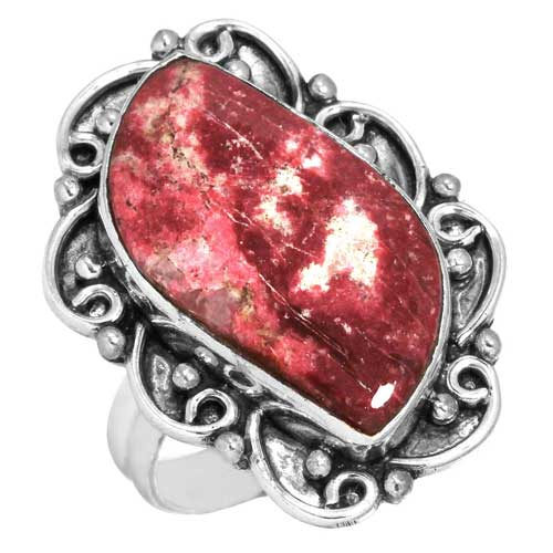 Wholesale Extended Line of Wholesale Rings (Product ID = 16625_R5_Pink_Thulite_5.80)