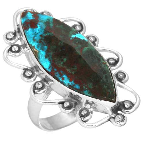 Wholesale Extended Line of Wholesale Rings (Product ID = 16903_R5.5_Mal._In_Chrysocolla_4.90)