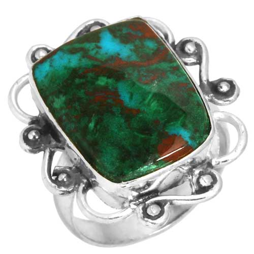 Wholesale Extended Line of Wholesale Rings (Product ID = 16910_R5_Mal._In_Chrysocolla_4.90)