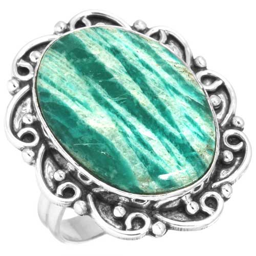Wholesale Extended Line of Wholesale Rings (Product ID = 16962_R8_Russian_Amazonite_7.40)