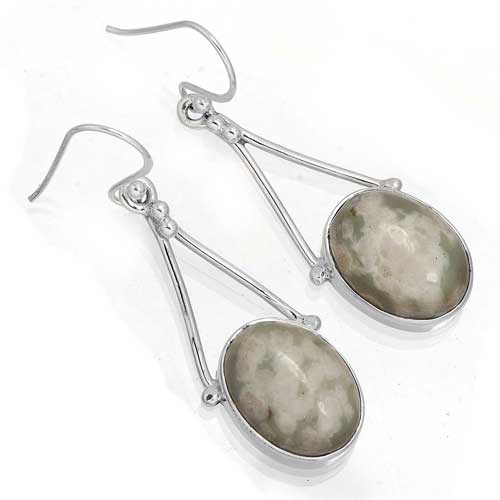Wholesale Extended Line of Wholesale Earrings (Product ID = 7938_E_Frog_Skin_Jasper_8.00)