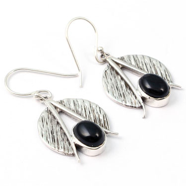 Wholesale Closeout jewelry wholesale silver (Product ID = E016BLK)
