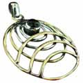 Wholesale Silver & Brass Pendants with Natural Gemstones (Product ID = psb78bx)
