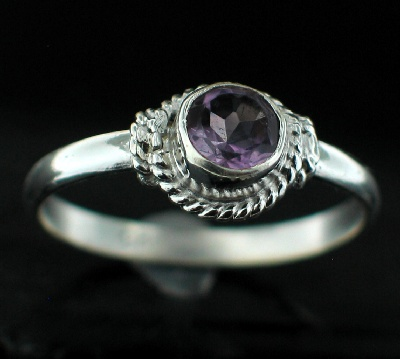 Wholesale Sterling Silver Gemstone Rings (Product ID = rg695amef)