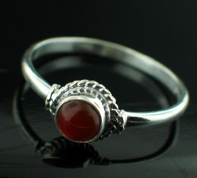 Wholesale Sterling Silver Gemstone Rings (Product ID = rg695car)
