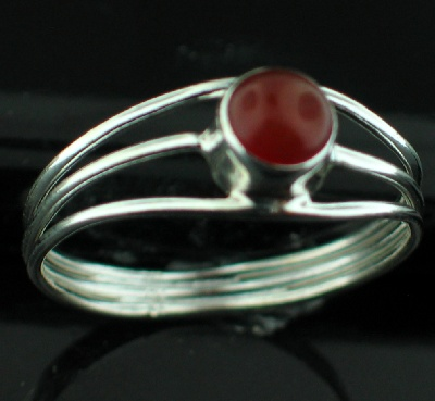 Wholesale Sterling Silver Gemstone Rings (Product ID = rg703car)