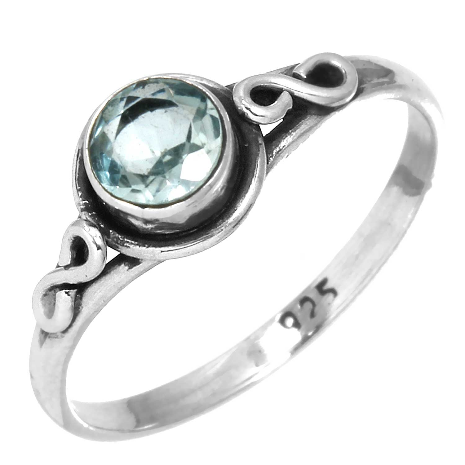 Wholesale Sterling Silver Gemstone Rings (Product ID = rg705btpf_8)