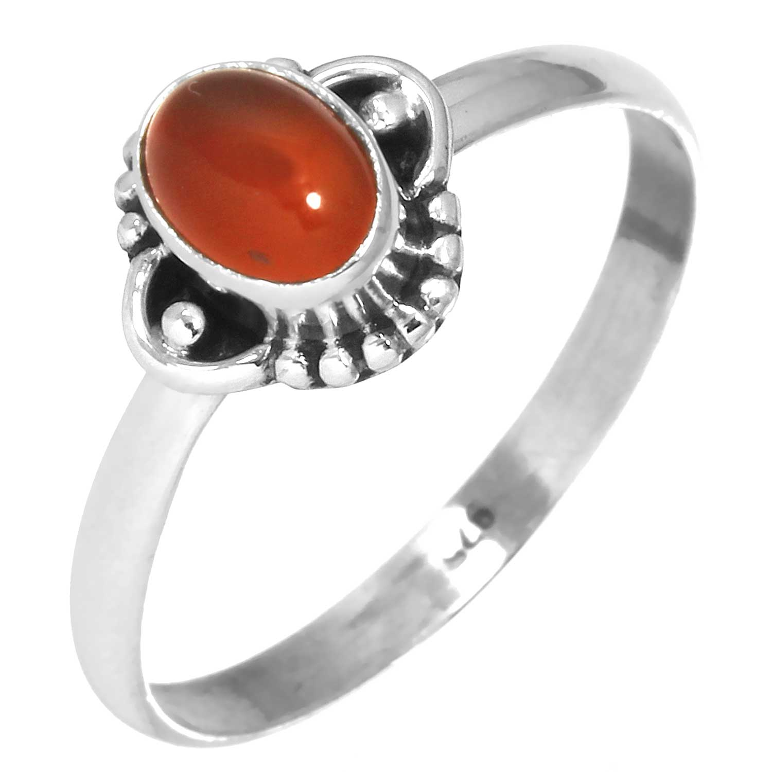 Wholesale Sterling Silver Gemstone Rings (Product ID = rg719car)