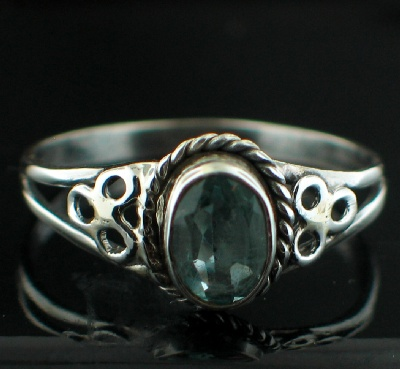 Wholesale Sterling Silver Gemstone Rings (Product ID = rg803btpf_9)