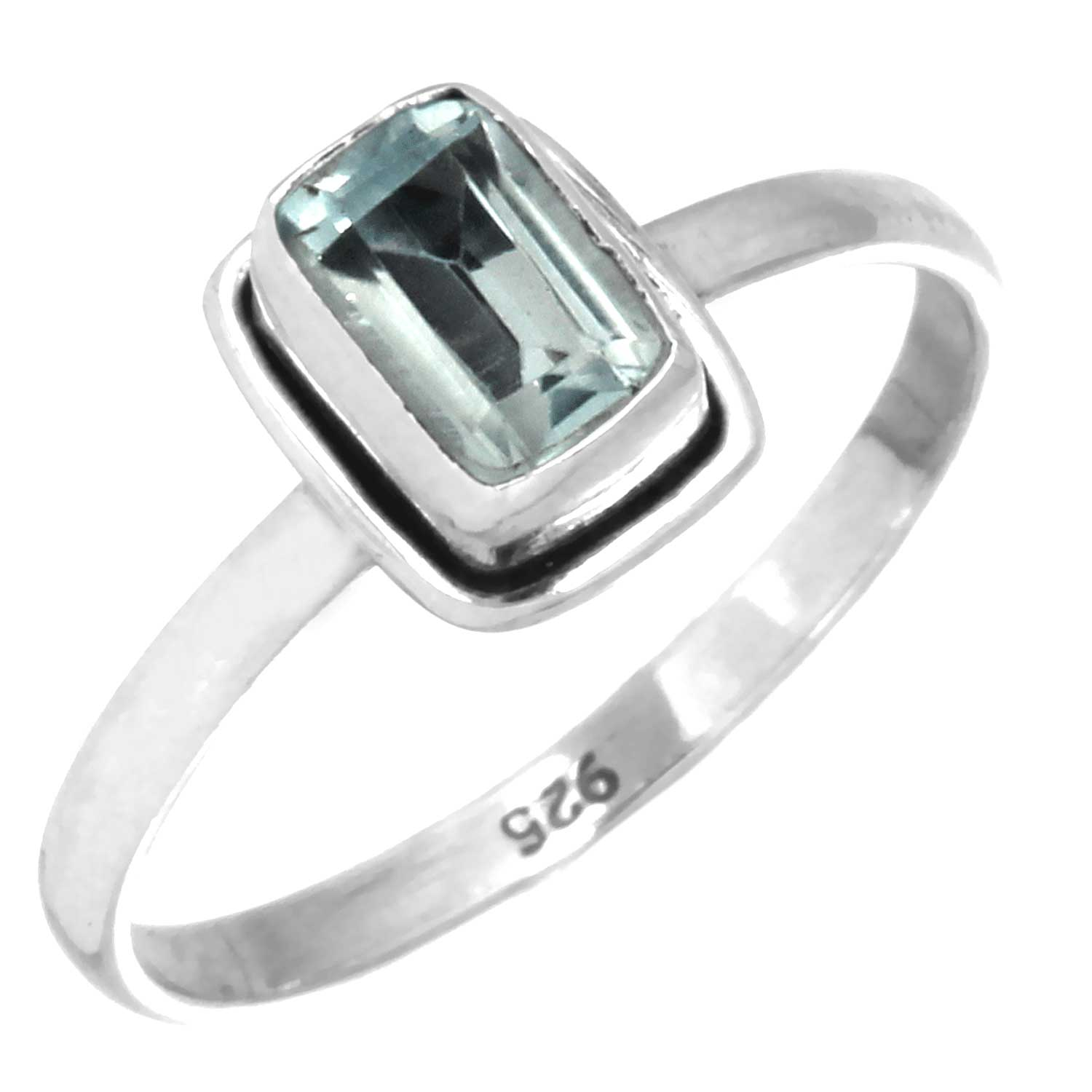 Wholesale Sterling Silver Gemstone Rings (Product ID = rg854btpf)