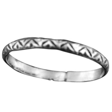 Wholesale Stackable Rings - very cool! (Product ID = rst04slv_a_7)