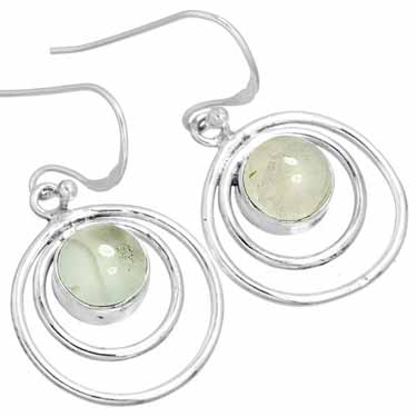 Sterling Silver Gemstone Earring (10010)