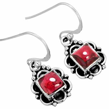 wholesale Wholesale Sterling Silver Gemstone Earrings (10050)