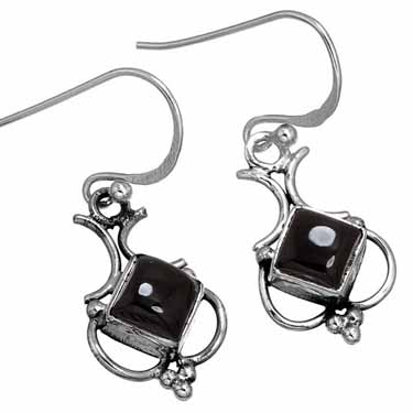 Sterling Silver Gemstone Earring (10168)