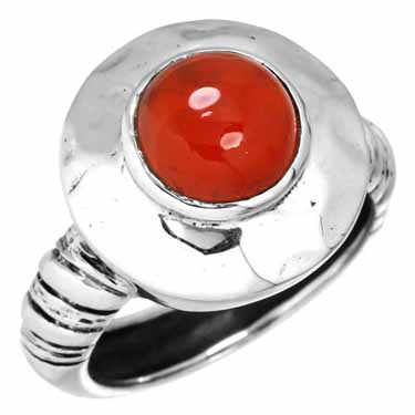 Sterling Silver Gemstone Ring (10204_8)