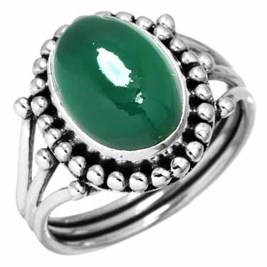 wholesale Wholesale Sterling Silver Gemstone Ring (10213_10)