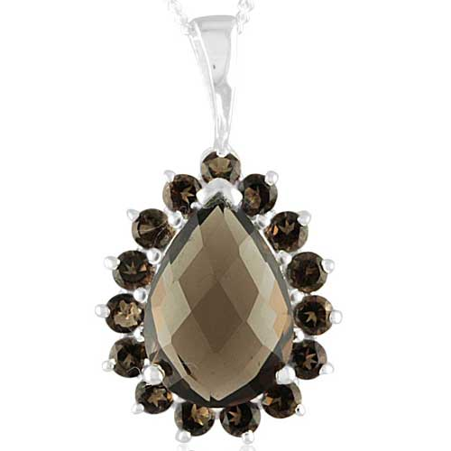 Sterling Silver Gemstone Pendant (1737)