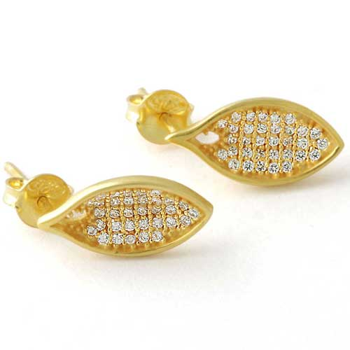 wholesale Wholesale Sterling Silver Gemstone Earrings (1881_E_Cubic zircon_ 2.40)