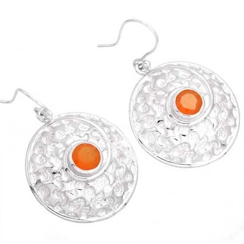 wholesale Wholesale Sterling Silver Gemstone Earrings (26220_E)