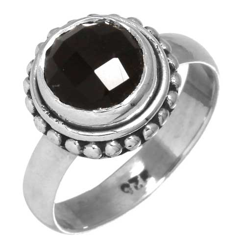wholesale Wholesale Sterling Silver Gemstone Ring (26743_R5)