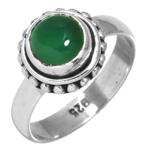 wholesale Wholesale Sterling Silver Gemstone Ring (26915_R5)