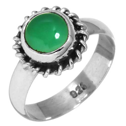 wholesale Wholesale Sterling Silver Gemstone Ring (26925_R5)