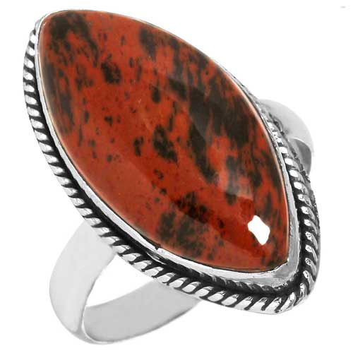 wholesale Wholesale Sterling Silver Gemstone Ring (28104_R9.5)