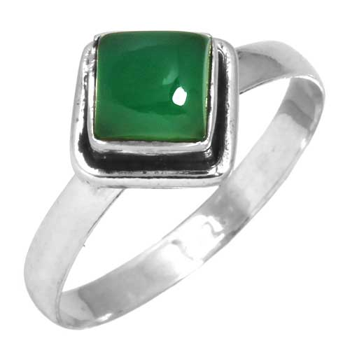 wholesale Wholesale Sterling Silver Gemstone Ring (31407_R8)