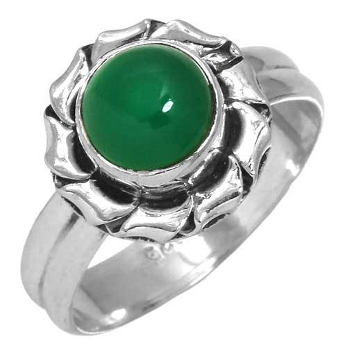 wholesale Wholesale Sterling Silver Gemstone Ring (31417_R6)