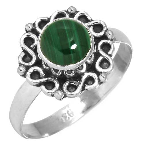 wholesale Wholesale Sterling Silver Gemstone Ring (31419_R9)