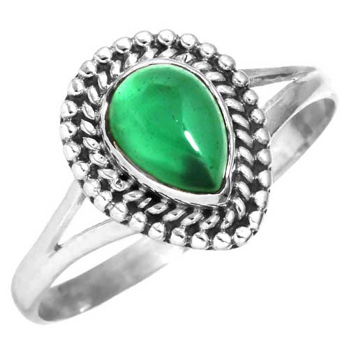 wholesale Wholesale Sterling Silver Gemstone Ring (31615_R7)