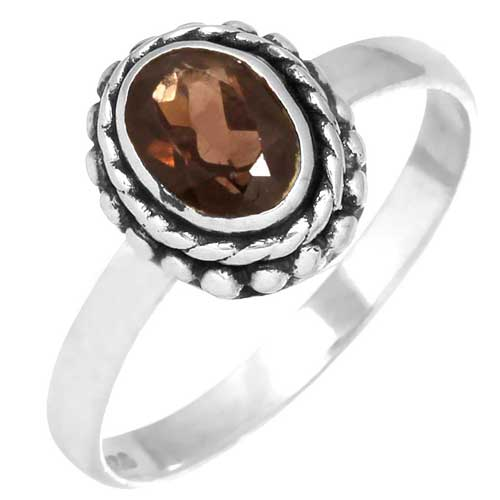 wholesale Wholesale Sterling Silver Gemstone Ring (31644_R7)