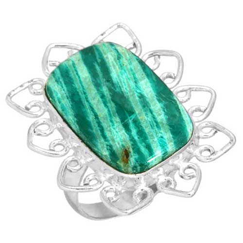 wholesale Wholesale Sterling Silver Gemstone Ring (31683_R8.5)
