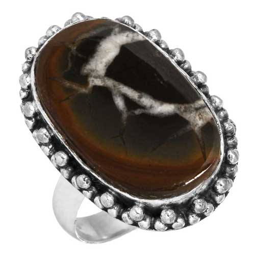 wholesale Wholesale Sterling Silver Gemstone Ring (31700_R6)