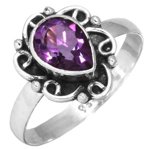 wholesale Wholesale Sterling Silver Gemstone Ring (32246_R7)
