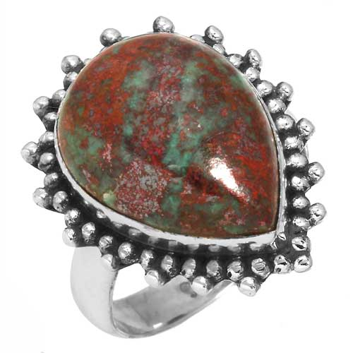 wholesale Wholesale Sterling Silver Gemstone Ring (32866_R5.5)
