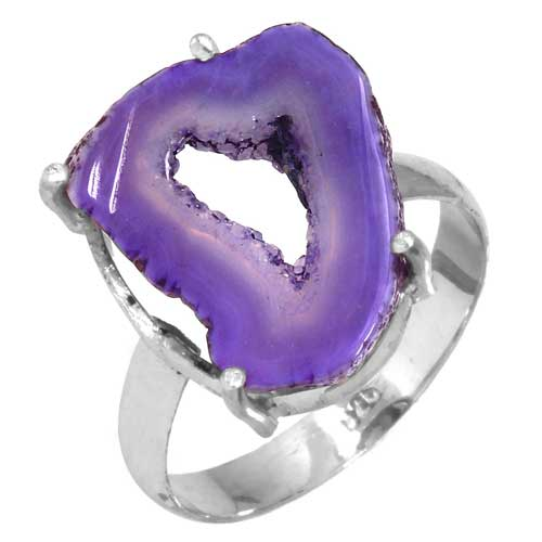 wholesale Wholesale Sterling Silver Gemstone Ring (33256_R10)