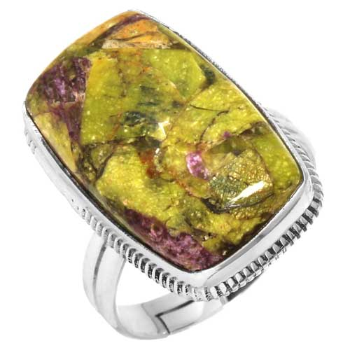 wholesale Wholesale Sterling Silver Gemstone Ring (33335_R8)
