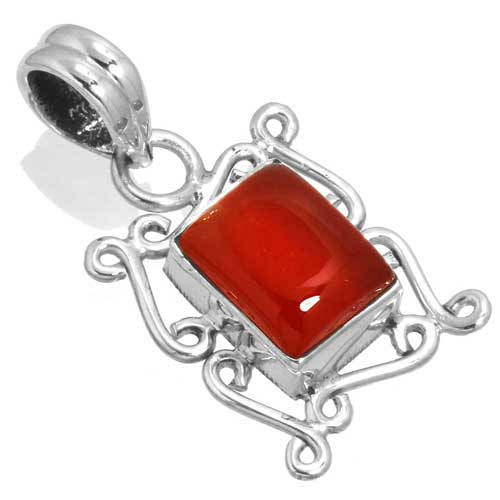 wholesale Wholesale Sterling Silver Gemstone Pendant (33524_P)