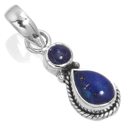 wholesale Wholesale Sterling Silver Gemstone Pendant (33548_P)