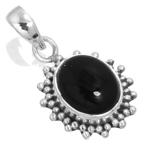 wholesale Wholesale Sterling Silver Gemstone Pendant (33566_P)