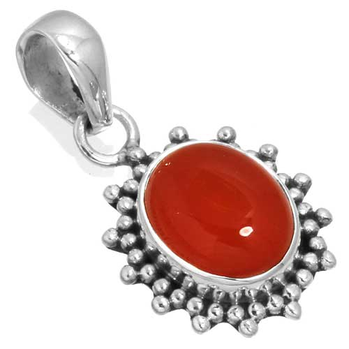 wholesale Wholesale Sterling Silver Gemstone Pendant (33568_P)