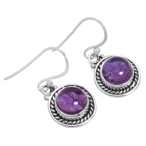 wholesale Wholesale Sterling Silver Gemstone Earrings (34329_E)